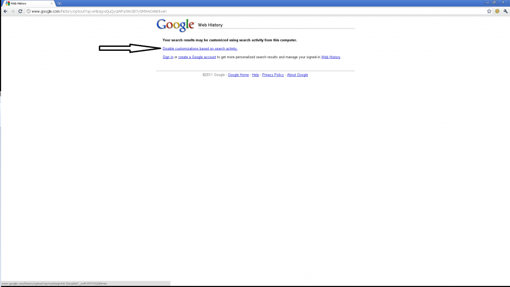 disable-google-personal-search